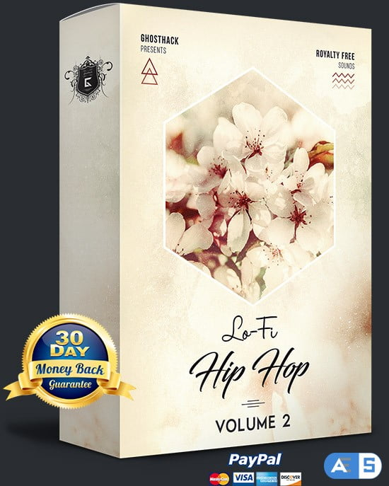 Ghosthack Sounds Lo-Fi Hip Hop Volume 2 WAV MiDi-DISCOVER