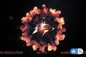 Videohive Logo Stomp Explosion 28128091