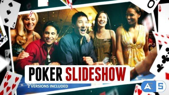 Videohive Poker Gambling Cards Slideshow 9983000