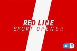 Videohive Red Line / Sport Promo 15204708