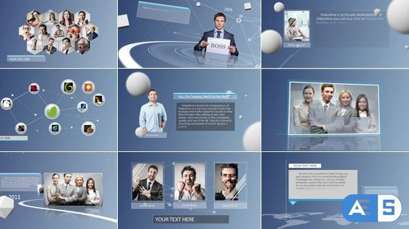 Videohive Clean & Simple Corporate Presentation 8182775