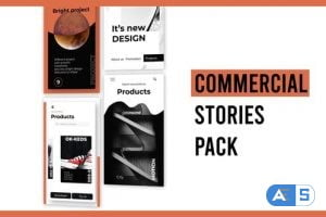 Videohive Commercial Stories Instagram 28723628