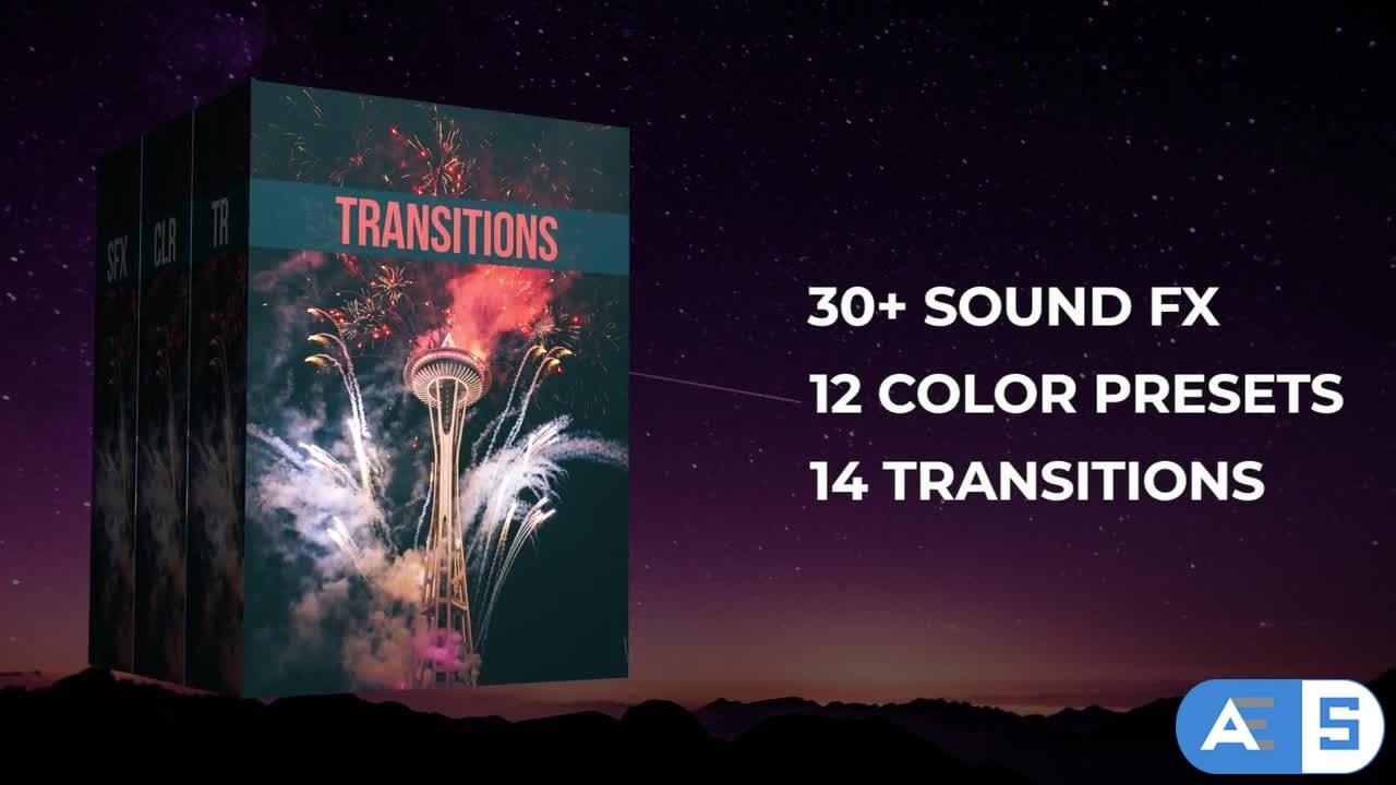 50+ Pack: Transitions, Color Presets, Sound Fx – Premiere Pro Templates