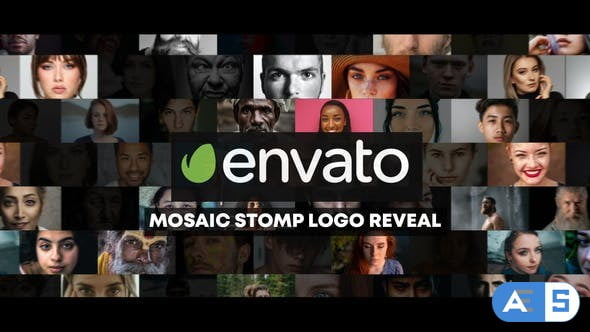 Videohive Mosaic Stomp Photo Logo Reveal 27800973