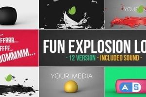 Videohive Fun Explosion Logo 12778911