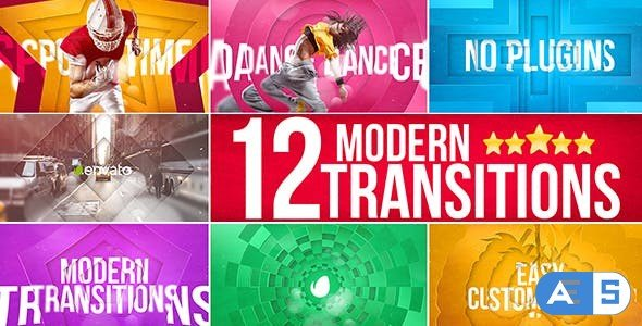 Videohive Modern Transitions 15562626