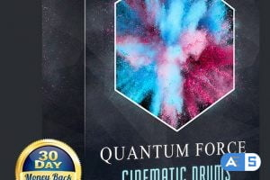 Ghosthack Sounds Quantum Force Volume 2 (Cinematic Drums) WAV-DISCOVER