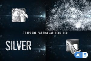 Videohive Glowing Particals Logo Reveal 34 : Silver Particals 01 25793511