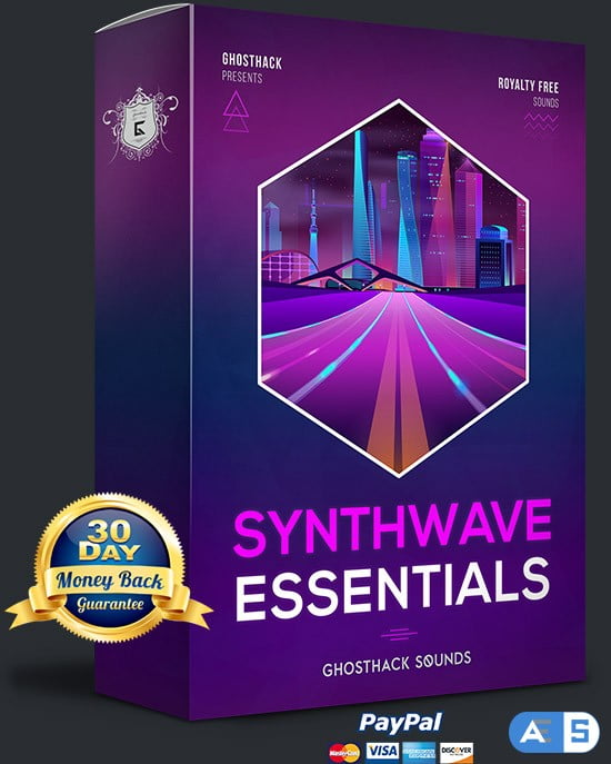 Ghosthack Sounds Synthwave Essentials WAV MiDi-DISCOVER