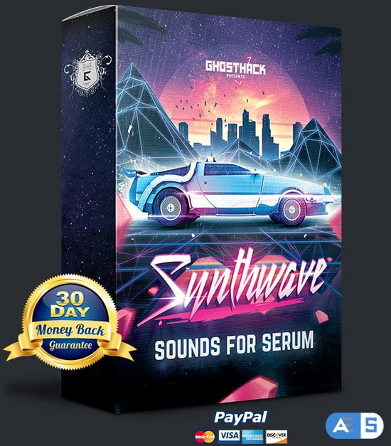 Ghosthack Sounds Synthwave For XFER RECORDS SERUM-DISCOVER
