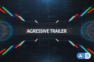 Videohive Aggressive Trailer 21047453