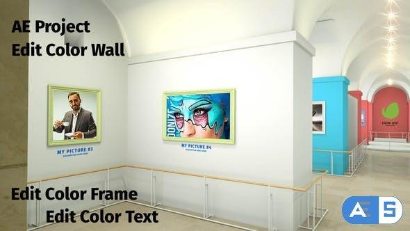 Videohive Louvre Petite Art Gallery 28598740