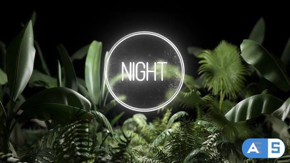 Videohive Neon Plants 23702759