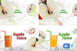 Videohive Apple Juice Opener 19524579