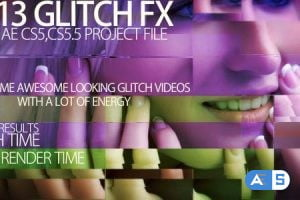 Videohive Video glitch FX 2753756
