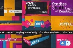 Videohive Typography 4790959