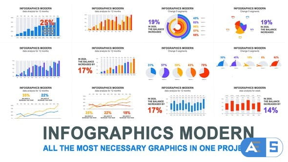Videohive Infographics modern 27687402