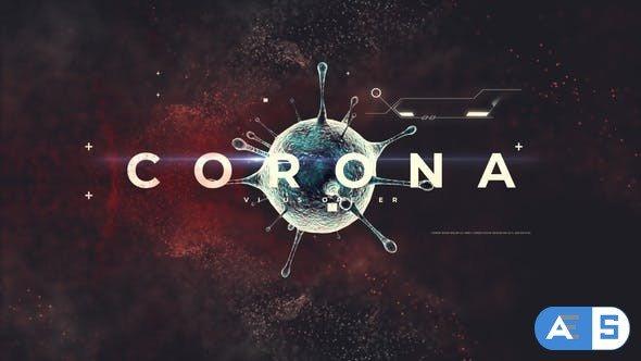 Videohive Corona Virus Opener 26002253