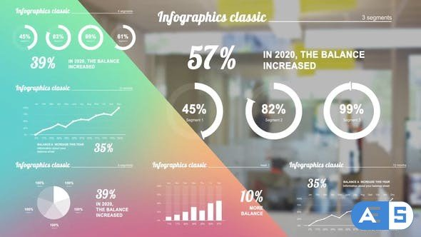 Videohive Infographics white 28452903