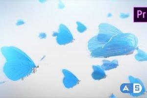 Videohive Butterfly Logo Reveal – Premiere Pro 23000561