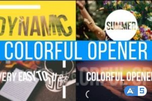 Videohive Colorful Opener 15881676
