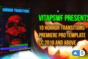 Videohive Halloween Horror Transitions 28752927