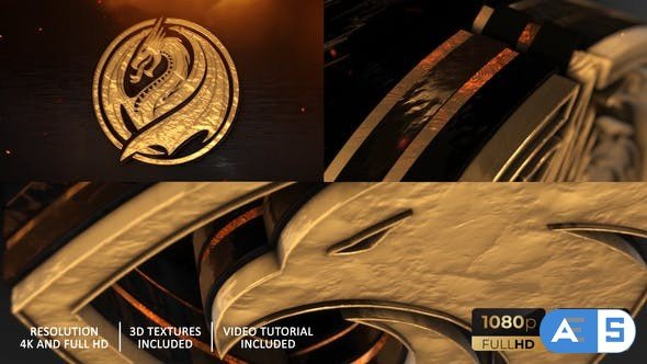 Videohive Gold Epic And Power Logo Reveal 27689975
