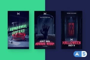 Videohive Halloween Scary Stories Vol. 2 28971197