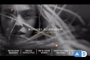 Videohive History Slideshow In Photos 28253008