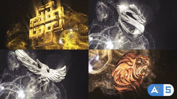 Videohive Particle Glossy Logo 27053454