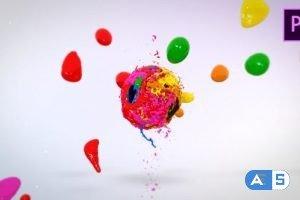 Videohive Mixing Paints Logo Reveal – Premiere Pro 23860182