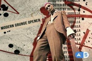 Videohive Modern Grunge Opener 26265050