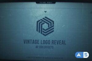 Videohive Techno Vintage Logo 29071163