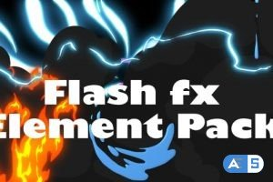 Videohive Flash Fx Element Pack – Motion Graphics 11989134