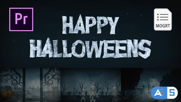 Videohive Halloween for Premiere Pro 28913067