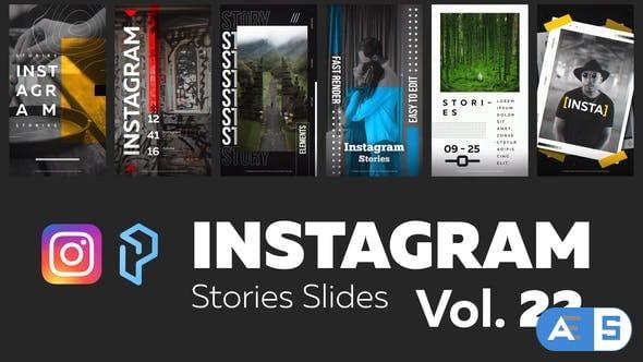 Videohive Instagram Stories Slides Vol. 22 29180631