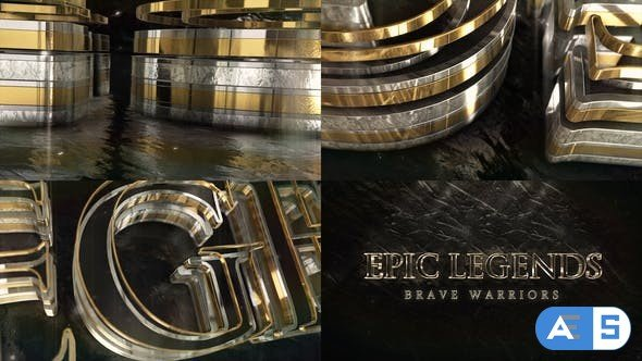 Videohive Epic Gold Silver Logo 28991773