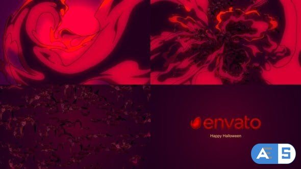 Videohive Halloween Logo Reveal 22766895