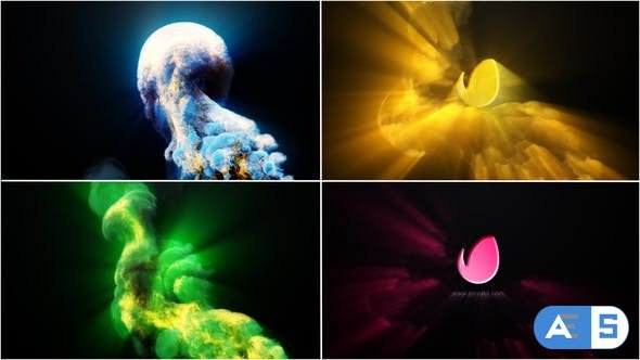 Videohive Colorful Fire Ray Logo 22720970
