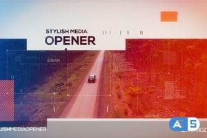 Videohive Stylish Media Opener 20420186