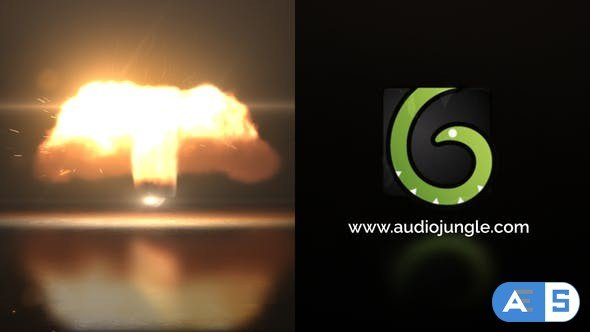 Videohive Fire Twist Logo Reveal 23363146