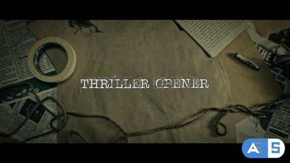 Videohive Thriller Opener 4K 28972180