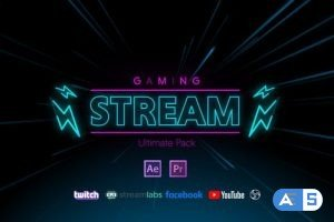 Videohive Stream Gaming Pack 28857021