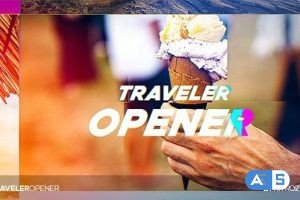 Videohive Traveler Opener 20265704