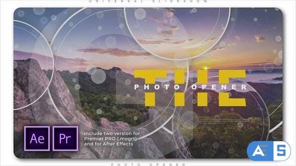 Videohive Universal Slideshow Photo Opener 28805774