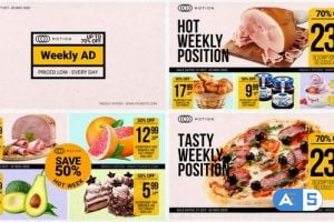 Videohive Weekly Ad – Food Online Promo 28882684
