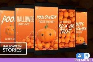Videohive Halloween Instagram Stories for Premiere 28695969