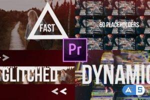 Videohive Fast Glitch Slideshow // Dynamic Opener 22061425