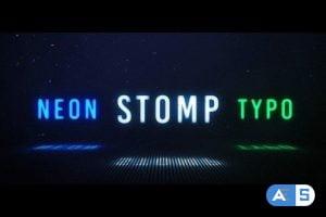 Videohive Neon Stomp – Typographic 23896870