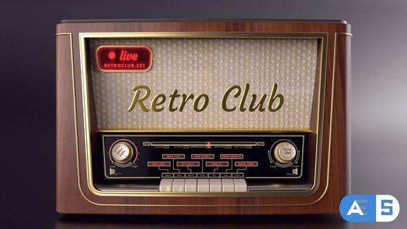 Videohive The Retro Radio – Title Opener 28485467